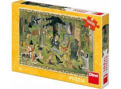 Dino Josef Lada hajného sen 100 dílků XL puzzle