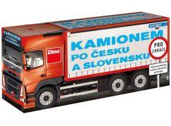 Dino Kamionem po Česku a Slovensku rodinná hra