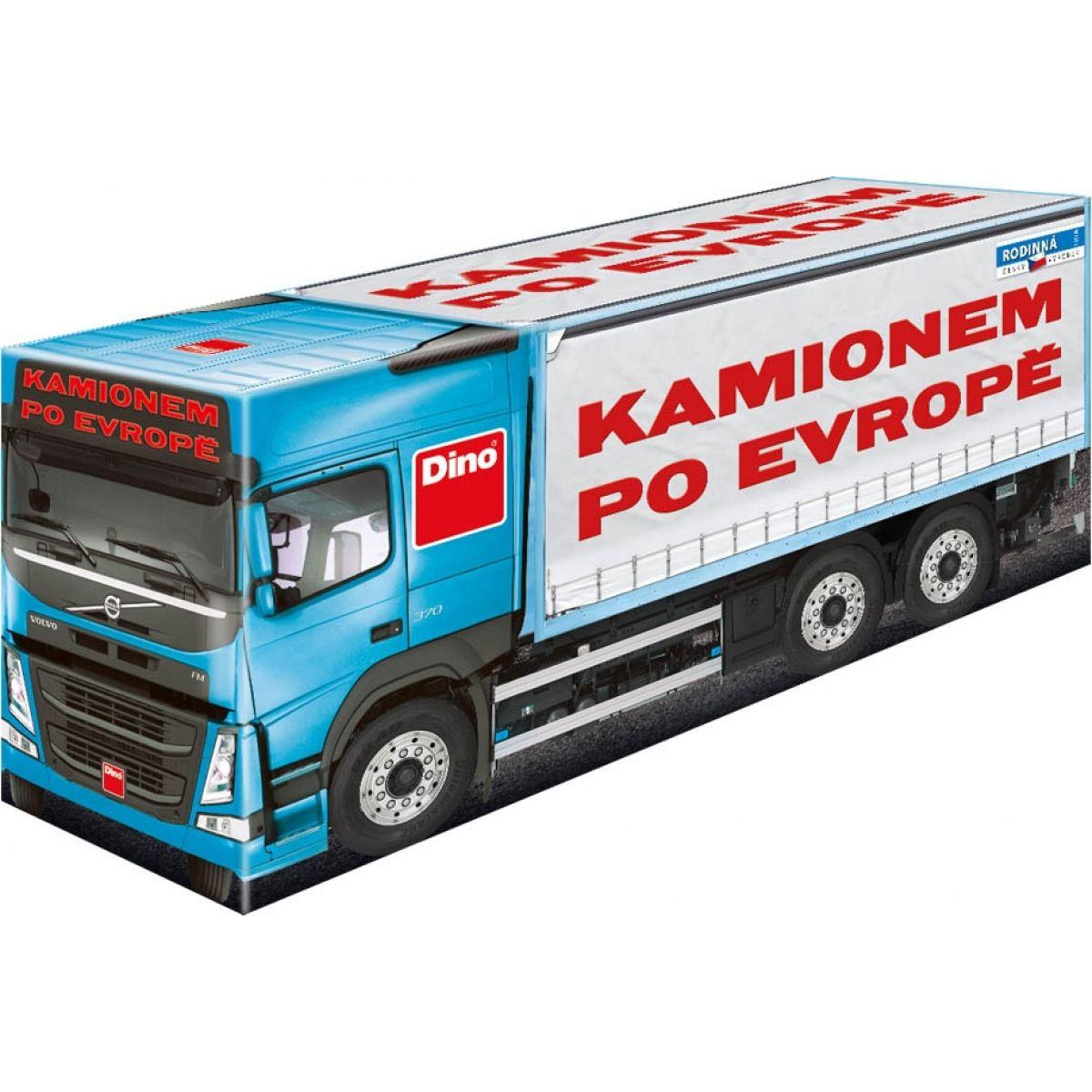 Dino Kamionem po Evropě - Poškozený obal