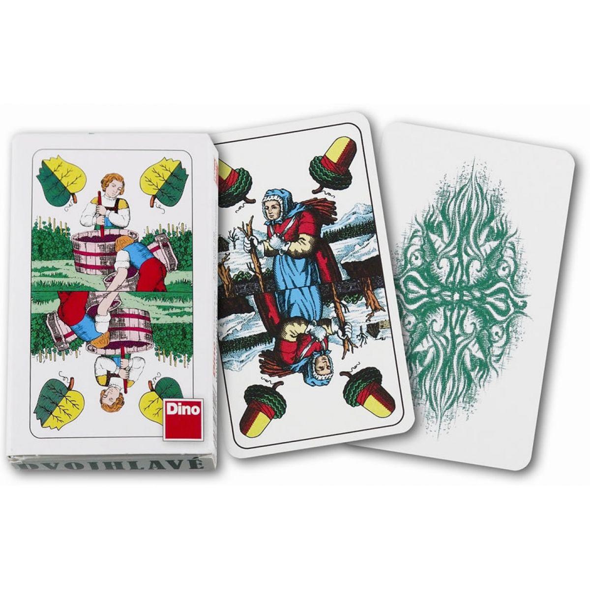 Dino Karty hrací dvouhlavé