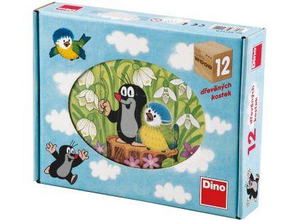 Dino Kostky Krtek a ptáček 12k