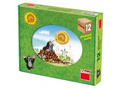 Dino Kostky Krtkův rok 12 kostek