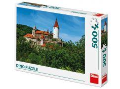Dino Křivoklát puzzle 500 dílků
