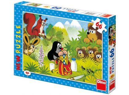 Dino Krteček Puzzle Krtek a koláček 66d