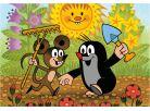 Dino Krteček Puzzle Krtek a myška 24dílků 2