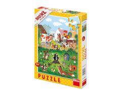 Dino Krteček Puzzle Krtek na statku 100XL dílků