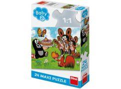 Dino Krtek narozeniny 24 maxi puzzle