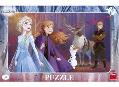 Dino Ledové království II 15 dílků Deskové puzzle