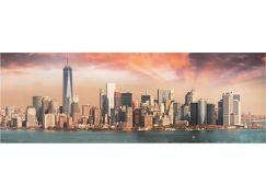 Dino Manhattan za soumraku 1000 panoramic puzzle