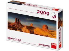 Dino Monument valley panoramic puzzle 2000 dílků