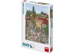 Dino Mostecká věž 500 dílků puzzle