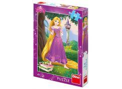 Dino Odvážná Locika puzzle 24 dílků