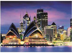 Dino opera v Sydney 1000 neon puzzle