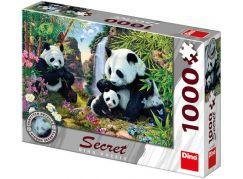 Dino Pandy secret collection puzzle 1000 dílků
