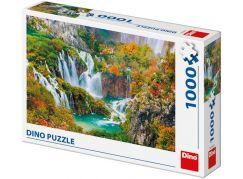Dino Plitvická Jezera puzzle 1000 dílků