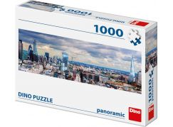 Dino Pohled na Londýn 1000 dílků panoramic puzzle