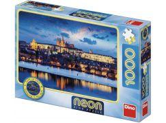Dino Pražský hrad 1000 dílků Neon puzzle