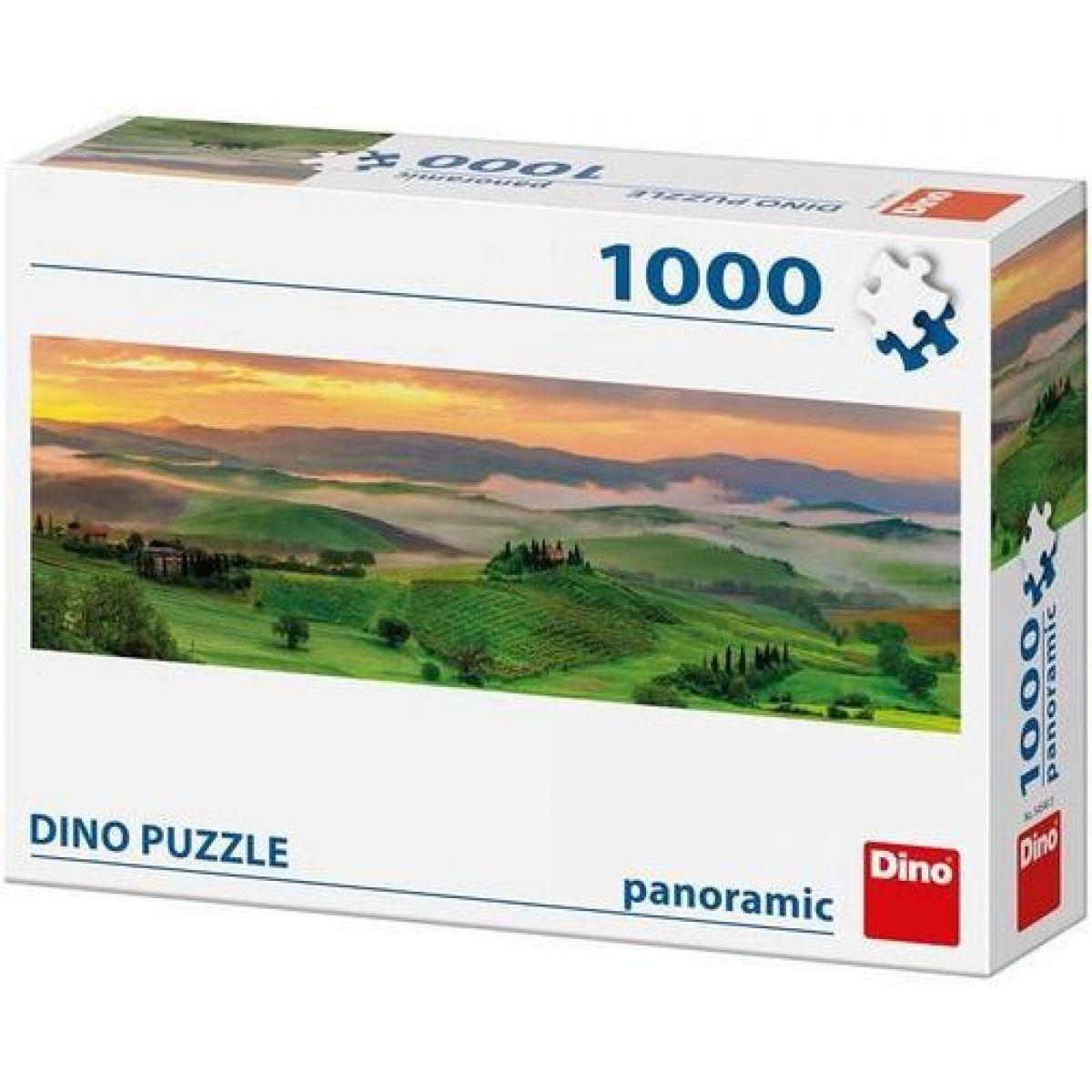 Dino Příroda Panoramic puzzle 1000 dílků
