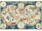 Dino Puzzle Astrologická mapa 500dílků 2
