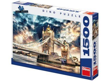 Dino Puzzle Bouře nad Tower Bridge 1500dílků