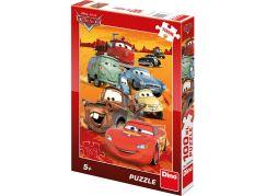 Dino Puzzle Cars na poušti 100XL dílků