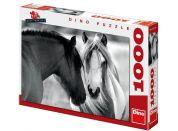 Dino Puzzle Černobílí koně 1000dílků