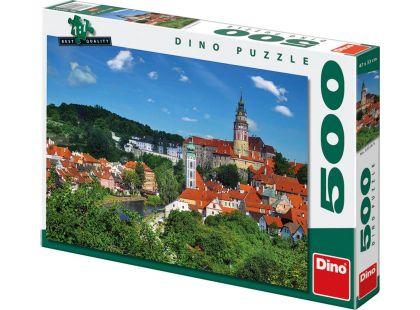 Dino Puzzle Český Krumlov 500dílků