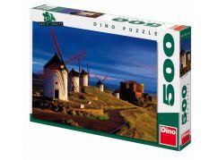 Dino Puzzle Cesta k větrnému mlýnu 500 dílků