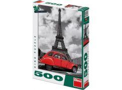 Dino Puzzle Citroen u Eiffelovky 500 dílků