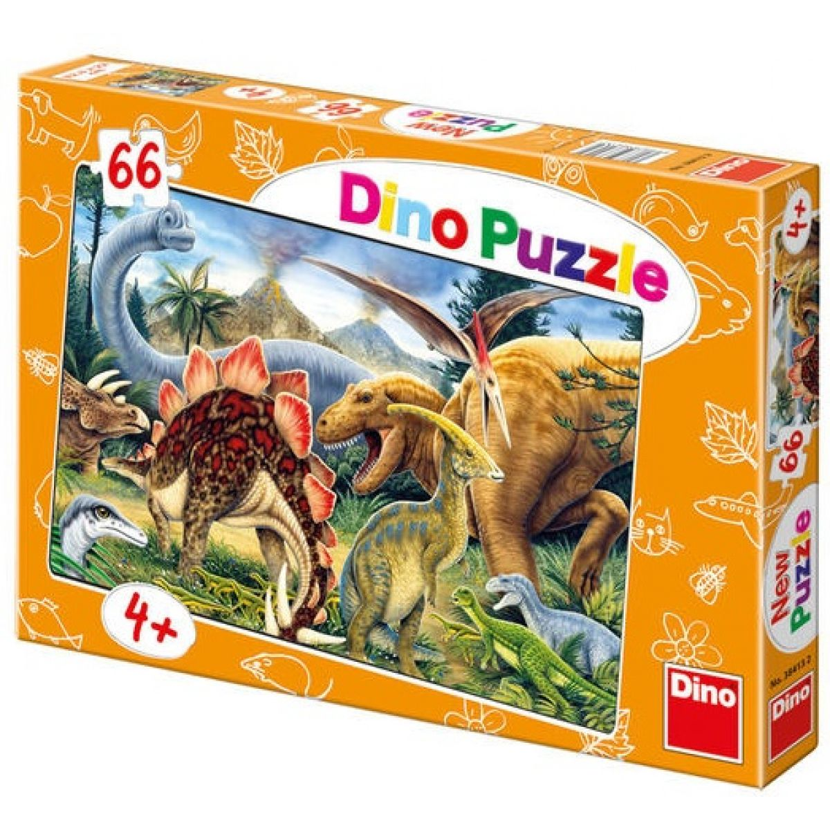 Dino Puzzle Dinosauři 66dílků