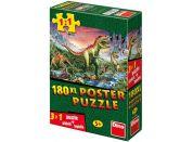 Dino Puzzle Dinosauři plakát 180XL