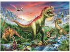 Dino Puzzle Dinosauři plakát 180XL 2