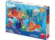Dino Puzzle Disney Dory a přátelé 4x54 dílků