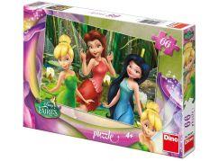 Dino Puzzle Disney Fairies Zvonilka 66dílků