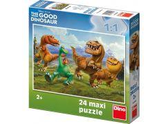 Dino Puzzle Disney Hodný Dinosaurus v horách 24 Maxi dílků