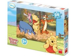 Dino Puzzle Disney Medvídek Pú Na výpravě 24 dílků