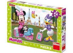 Dino Puzzle Disney Minnie v Paříži 24 dílků