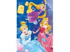 Dino Puzzle Disney Princess neon 100XL dílků