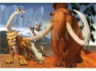 Dino Puzzle Doba ledová partička 66 dílků 2