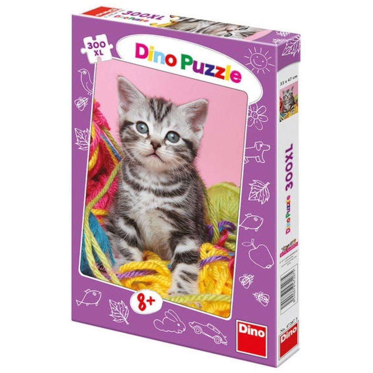 Dino Puzzle Duhové kotě 300XL dílků