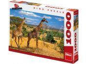Dino Puzzle Dvě žirafy