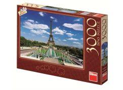 DINO Puzzle Eiffelova věž 3000 dílků