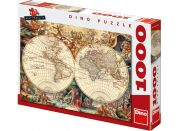 Dino Puzzle Historická mapa 1000d