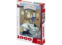 Dino Puzzle Hütnerová Salon pro psy 1000 dílků