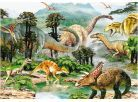 Dino Puzzle Život dinosaurů 100d XL 2