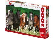 Dino Puzzle Koně na louce 1000dílků