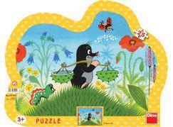 Dino Puzzle Krteček 25d
