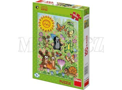 Dino Puzzle Krteček a jarní den 100XL dílků