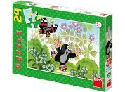 Dino Puzzle Krteček na bruslích 24d