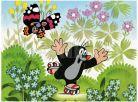 Dino Puzzle Krteček na bruslích 24d 2